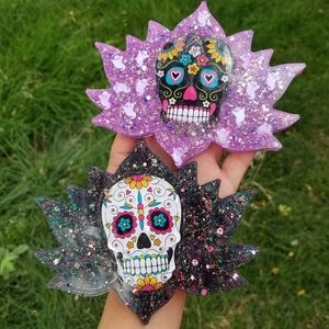 Accessories - 🆕️Custom, Day Of The Dead, Large Lotus Coaster